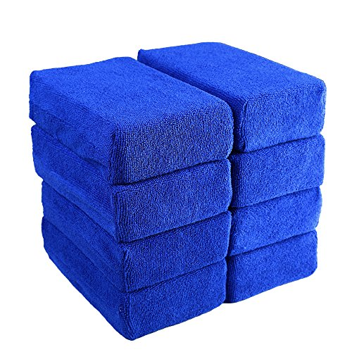 4. AsyPets Car Wash Microfiber Sponges House Clean Sponge