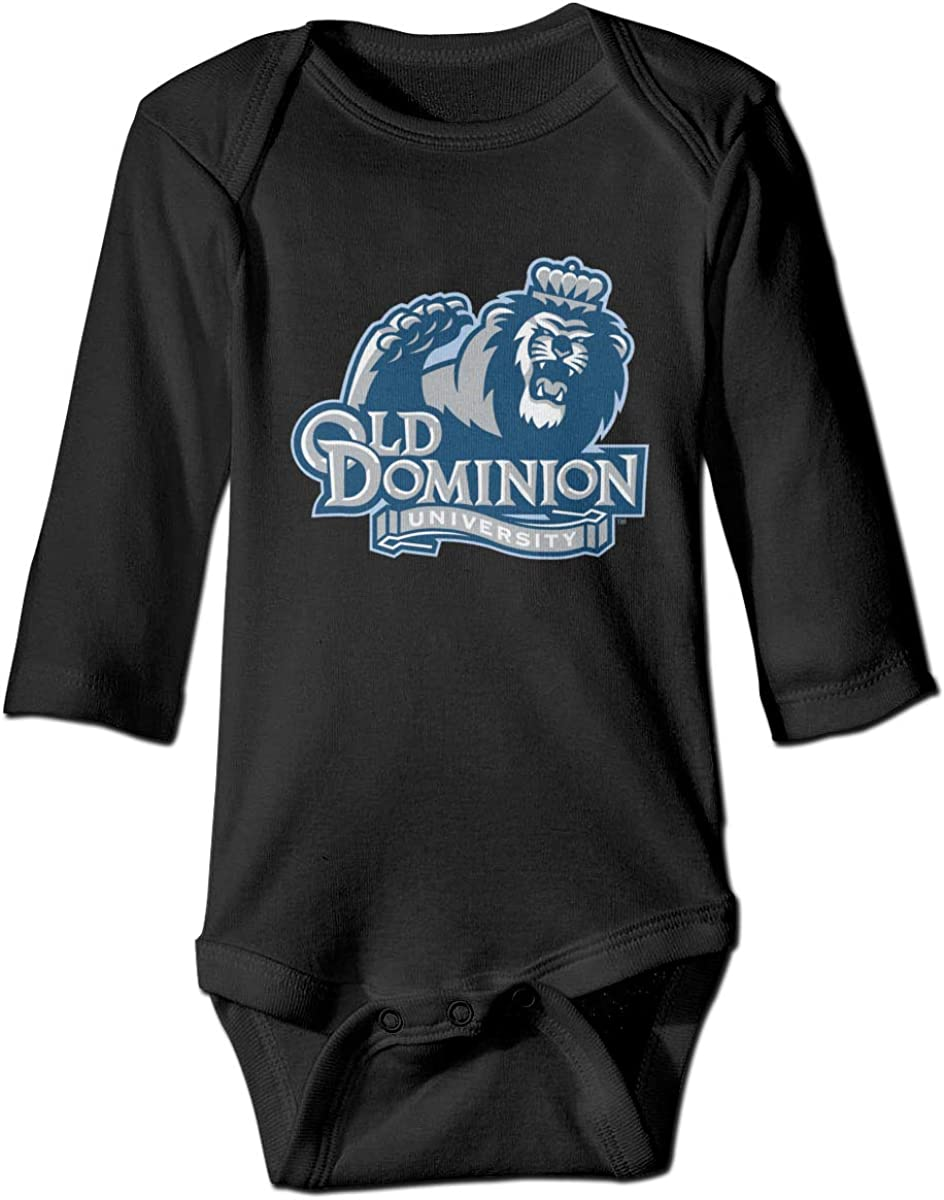 Chouven Infant Babys Old Dominion Long Sleeve Bodysuit Toddler Rompers
