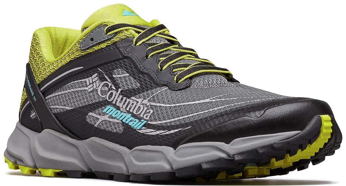 gris (Ti gris Steel, 033) 41.5 EU Columbia Caldorado III, Chaussures de Trail Homme