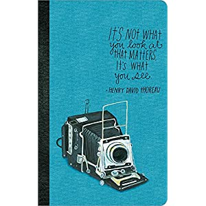 It's not what you look at that matters, it's what you see. (Write Now Journal)