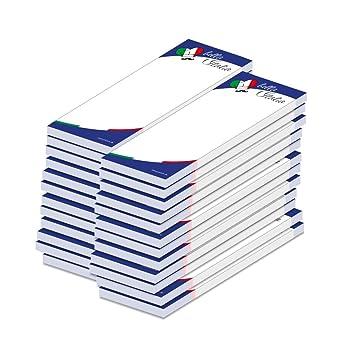 10x Gesprächsnotiz A5 40 Blatt 2x gelocht geleimt Recycling Gesprächsnotizen NEU