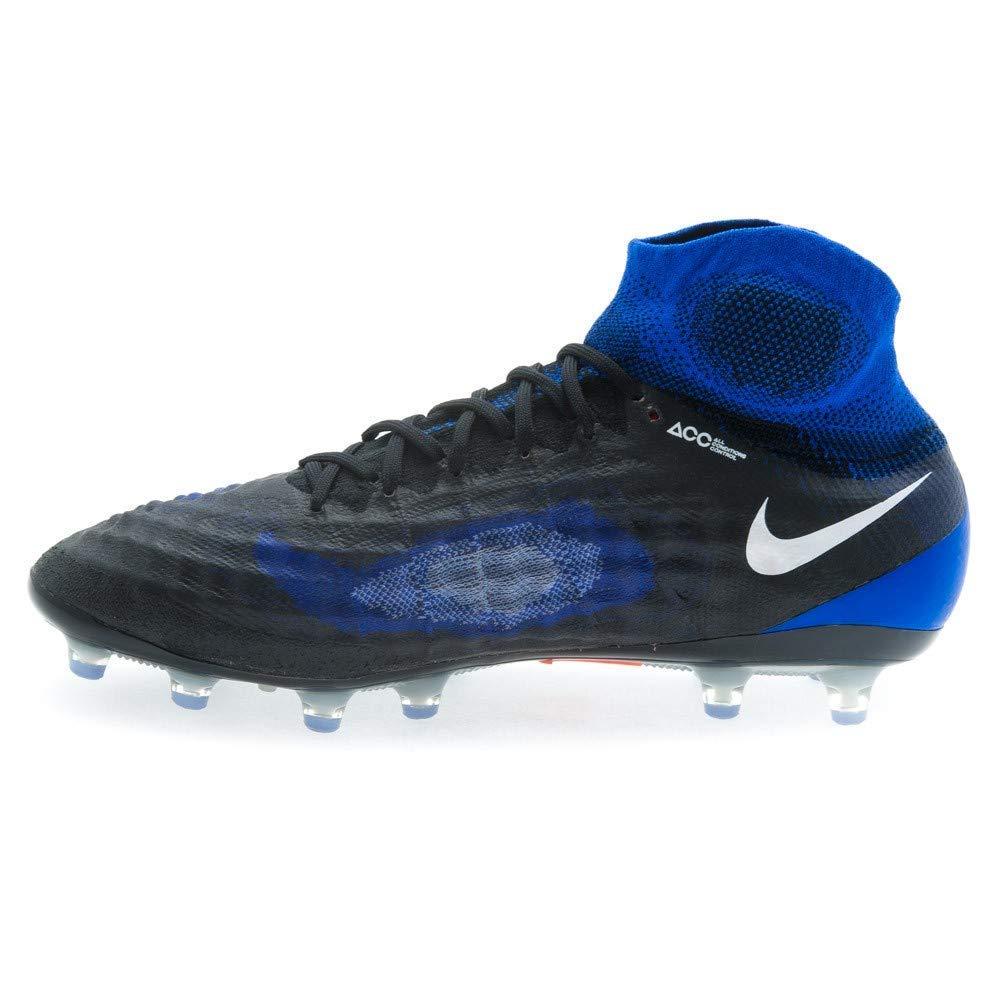 a54da0eef7f3 Amazon.com | Nike Men's Cleats Size 8.5 Magista Obra II AG-Pro Acc Soccer  844594-019 Blue/Black | Soccer