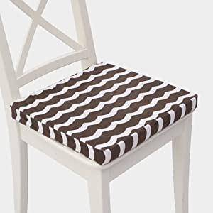 KKLTDI Memory Foam Square Chair Pad, Cotton Soft Non-Slip Removable Seat Cushion Can Relieving Back Pain & Sciatica Pain Chair Cushion-b 40x40x4cm(16x16x2inch)