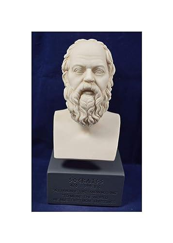 Estia Creations Socrates Sculpture Ancient Greek Philosopher Museum Reproduction Bust