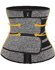 Neopreen Zweet Taille Trainer Corset Trimmer Riem voor Vrouwen Gewichtsverlies, Taille Cincher Shaper Slanker Gewichtsverlies Compressietrimmer Workout Fitness