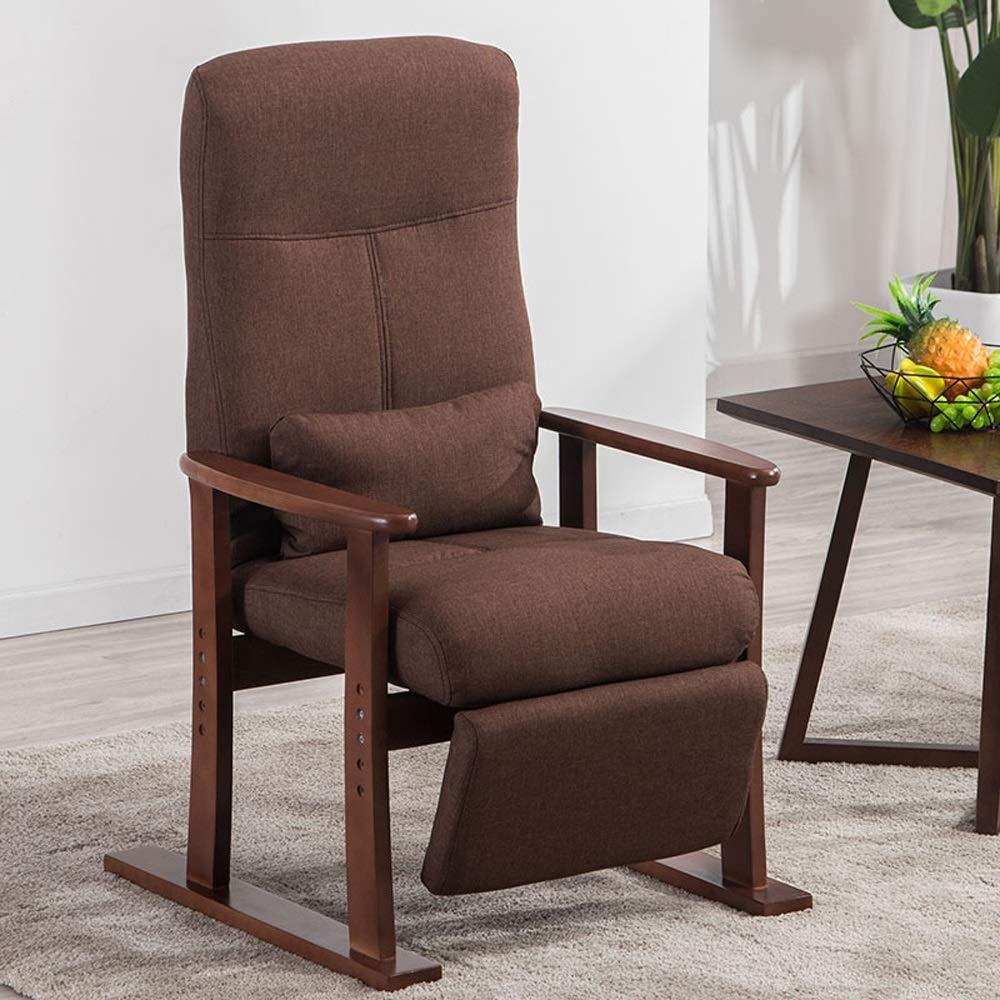 Tumbona de Madera Maciza sillas reclinables Silla del ...