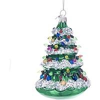 "Kurt Adler 5"" Noble GEMS Glass Xmas Tree Ornament"