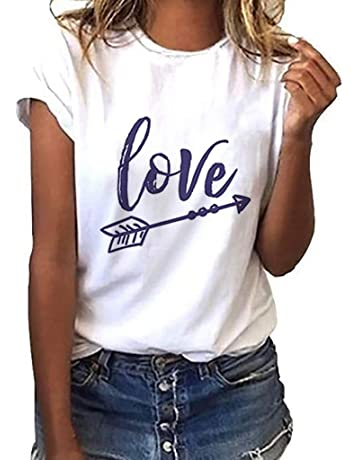 f8235fb7a04 Pocciol Womens Blouse Basic T Shirt for Women