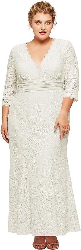 Plus Size Victorian Wedding Dress