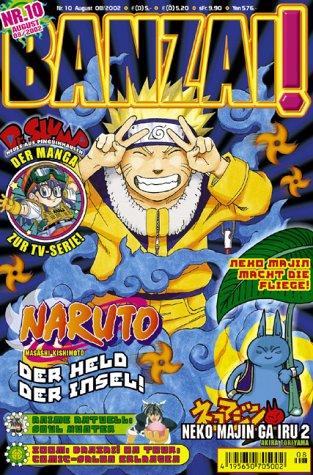 Banzai! Bd. 10 Taschenbuch – 2002 unbekannt Carlsen 3551757402 Manga; Magazine