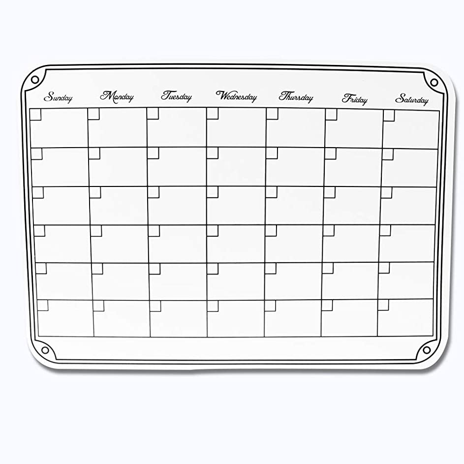 笑気晴らし日曜日オーブ 2019年 カレンダー 4月始まり 卓上 オリーブ CKS-600OL