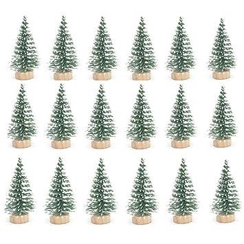 Amazon.com: STUDYY 24 piezas Mini Pino Sisal Nieve Frost ...