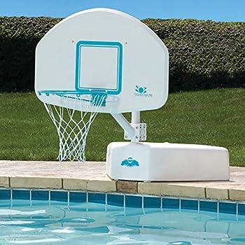 Dunnrite deckshoot pool basketball hoop with - Basketball goal for swimming pool ...