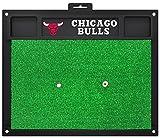 Fanmats NBA Chicago Bulls Team Logo 20 X 17 Inch Golf Hitting Mat Heavy Duty