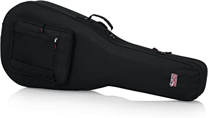GATOR CASES GL-DREAD-12 STRINGS DREADNOUGHT GUITAR CASE WITH COMPARTMENTS NEW