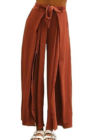 e3871e14e27c3 Printemps Eté Elégante Mode Femme Pantalon Droit avec Ceinture ...