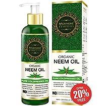 Morpheme Pure Organic Neem Oil ColdPressed Undiluted 120ml