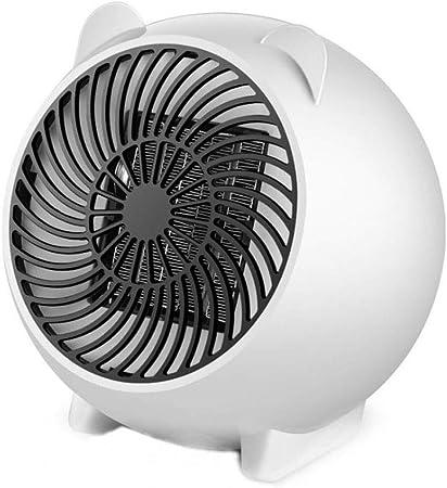 XJHFDC Mini Calentador de Ventilador, Ventilador de Calor, Calor ...