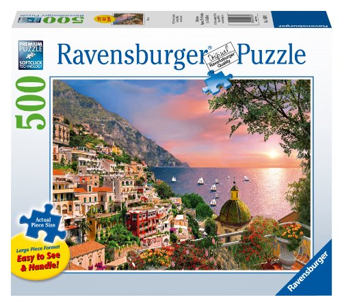 Positano Jigsaw Puzzle, Large Format, 500-Piece