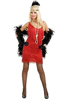 0ecc952d7bb Amazon.com  Sandy Speak Easy Flapper Adult Costume Wine - Plus Size ...