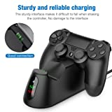 PS4 Controller Charger, BEBONCOOL PS4 Wireless
