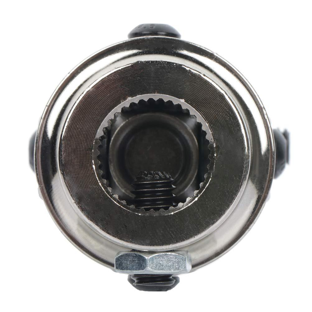 ROADFAR 3//4-36 Spline X 3//4 DD Steering Universal U-joints Chrome single Steering Shaft U Joint