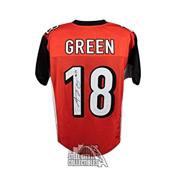 Signed A.J. Green Jersey - Custom Orange COA - JSA Certified - Autographed  NFL Jerseys b8e558774