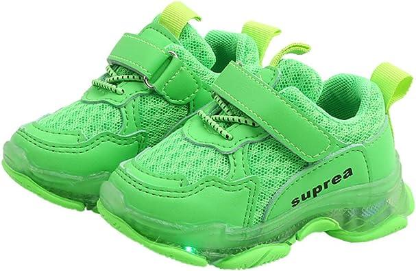 Daclay Kids Shoes Glow Girls Boys Shoes