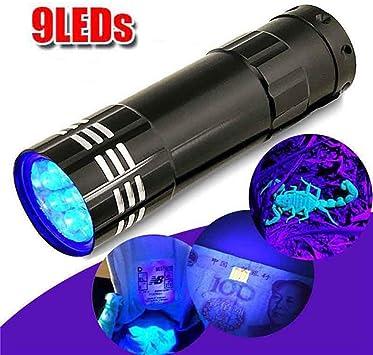 New Portable  UV LED Flashlight Torch Purple Light 395nm Ultraviolet Lamp FZ