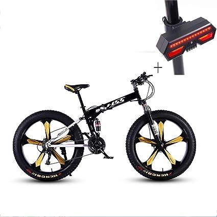 Huoduoduo Bicicleta, Bicicleta De Montaña, 26 Pulgadas De 24 DE Velocidad De Disco Doble