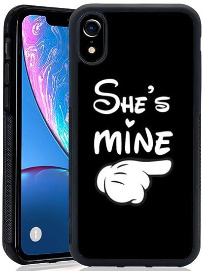 detailed look 3de67 c1f8a Amazon.com: Best Friend iPhone XR ChyFS Phone Case Black Protective ...