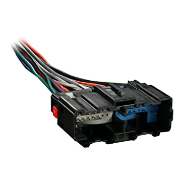 61YKFuHxXuL._SY355_ amazon com metra 70 2104 radio wiring harness for 06 up gm car metra radio wiring harness at creativeand.co