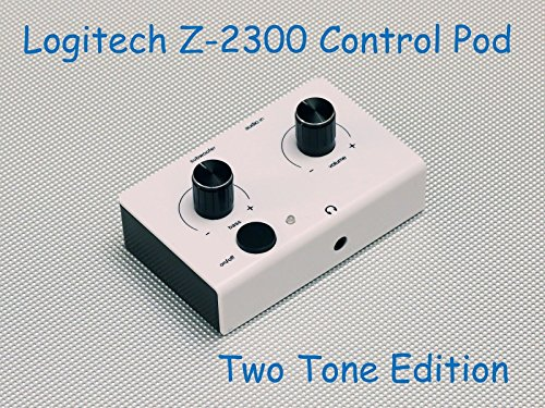 SummitLink Replacement Control Pod Two Tone Edition for Logitech Z-2300 Computer Speakers W B