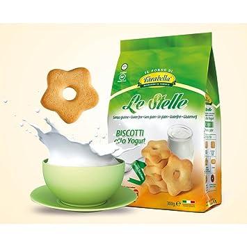 Farabella Stelle Allo Yogurt Biscotti Senza Zucchero 300g Amazon.it  Salute e cura della persona