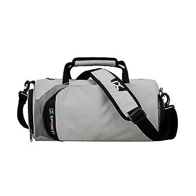 Sac De Sac De Toile Rétro Voyage Pack De Conditionnement Physique Paquet De Week-end,MG17107LightGray-20LOrLess