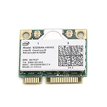 DRIVERS INTEL 62205ANHMW