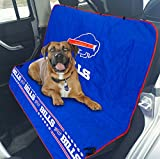 Pets First NFL CAR SEAT Cover – Buffalo Bills Waterproof, Non-Slip Best Football Licensed PET SEAT Cover for Dogs & Cats. Review