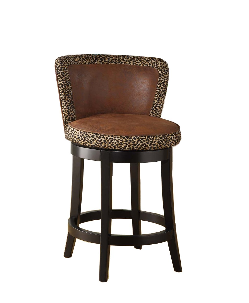 Armless Bar Stool With Back Kitchen Counter Chairs