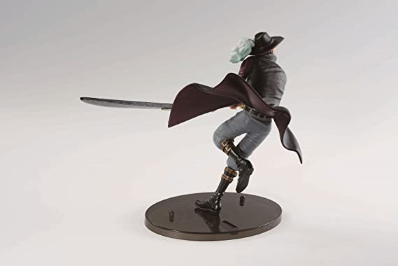 17/cm Mihawk Action Figure Banpresto 604719/Scultures One Piece Bwfc op
