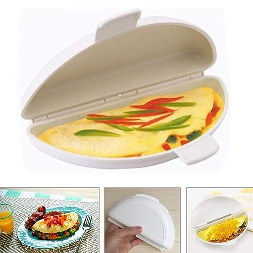 Miji Microondas Horno Omelette de Huevo, Horno de microondas ...