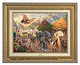 Thomas Kinkade Disney Dumbo 12'' x 16'' Canvas Classic (Gold)