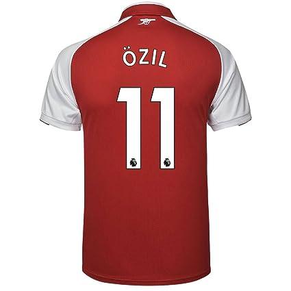 online store b5ce3 0a565 Amazon.com : Arsenal Home Özil Jersey 2017/2018 (Authentic ...