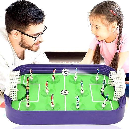 AFFC Mini Futbolín Juego de Mesa de Escritorio de fútbol Modelo Campo Building Blocks Juego de Escritorio Inicio Ocio: Amazon.es: Hogar