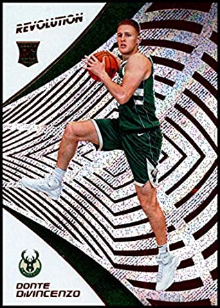 01f13086312 2018-19 Revolution Basketball  115 Donte DiVincenzo RC Milwaukee Bucks  Rookie Official NBA Trading