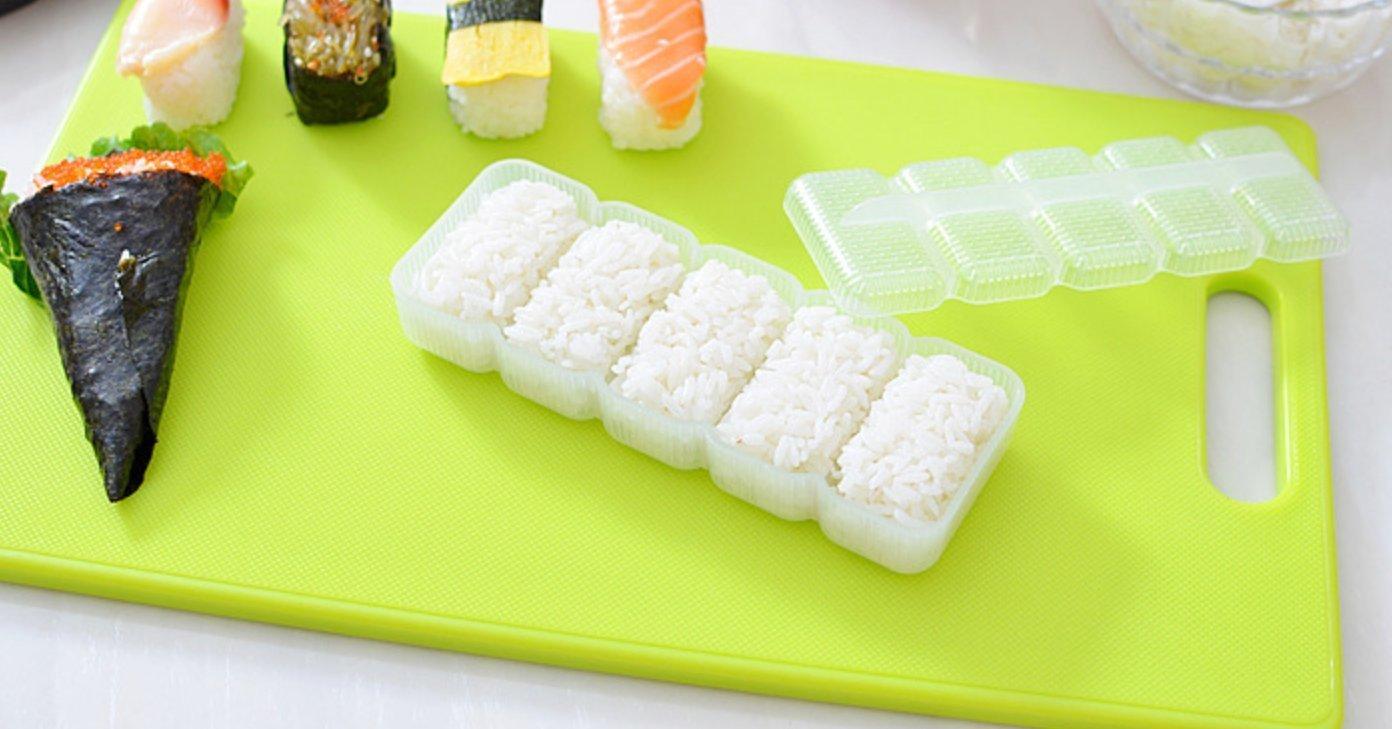 Nalmatoionme trasparente plastica sushi Mold Rice Ball antiaderente Press Tool 1PC TRTA11A