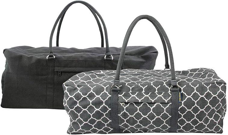 Yoga Mad Kit Bag Yoga Pilates Fitness Gym Accessory Equipment Cotton Holdall