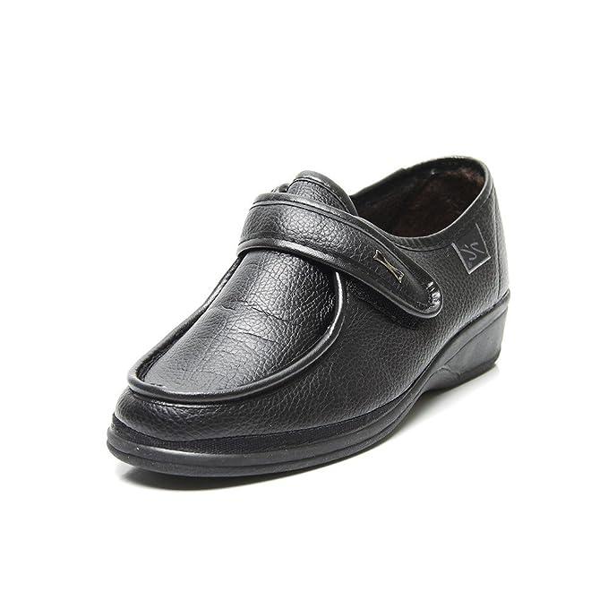 Doctor Cutillas 780 - Zapato Ortopédico Velcro Negro