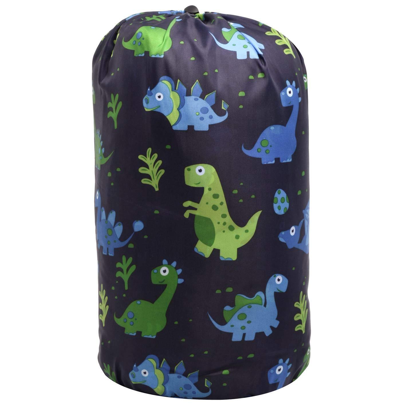 Gelert Dinosaur Saco de dormir para primavera y verano