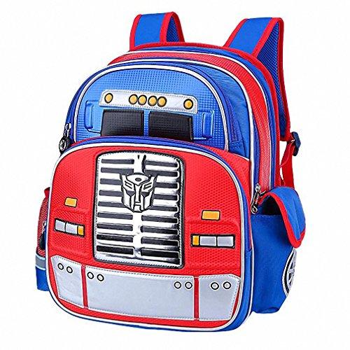 5257336a0ed6 cartoon robot schoolbag boy backpacks children school bags for girls kids  backpack mochilas escolar infantil cool bag blue - Buy Online in UAE.