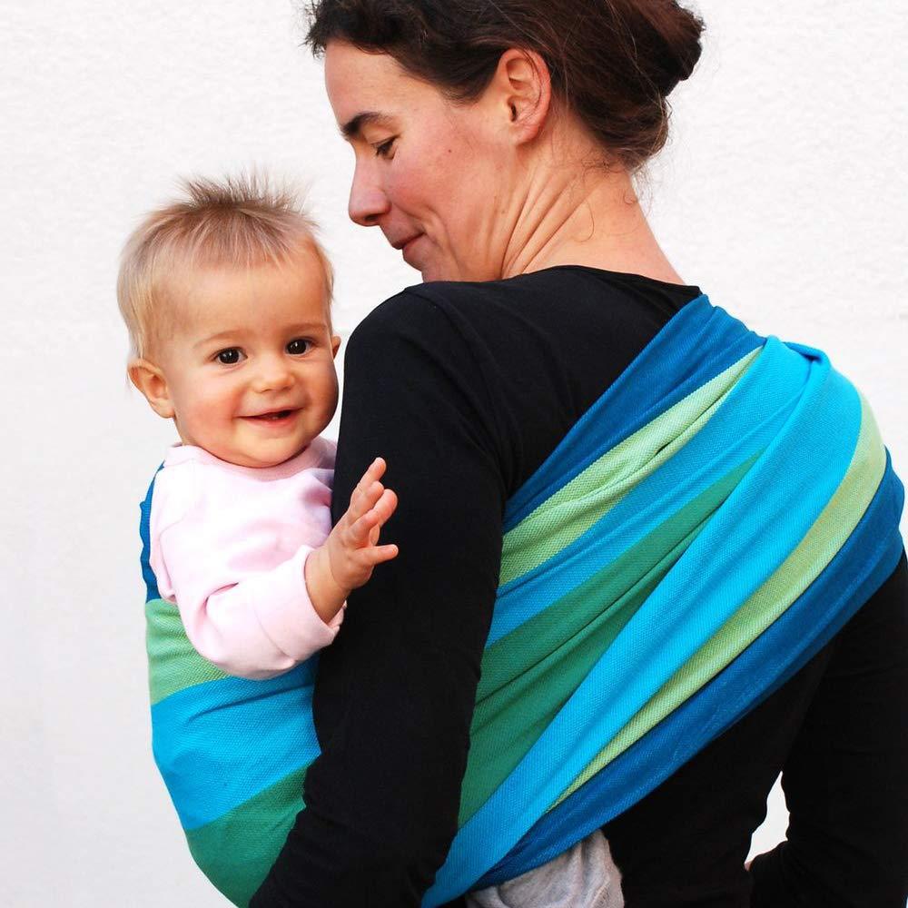 DIDYMOS Woven Wrap Baby Carrier Art Deco Organic Cotton Size 5